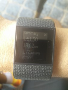 De samenvatting van de Fitbit Surge