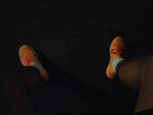De schoenen die het record pakten