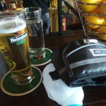 Een welverdiend biertje!